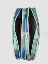 Pencil Case For Kids 2 Compartments Cameleon Gray actual TROU-vue-porte