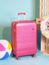 Large Spinner Lisbon Travel Pink lisbon 18807-L