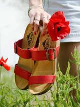 Sandales so rock en cuir-PLAKTON