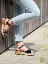 Sandales semelle compensée canon-MAM'ZELLE