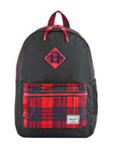 Backpack 1 Compartment Herschel Black youth 10312