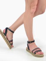 Sandals artisanal flatform-TOMMY HILFIGER-vue-porte