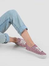 Platform sneakers corporate-TOMMY HILFIGER-vue-porte