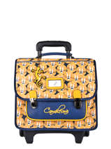 Wheeled Backpack Rétro Cameleon Yellow retro 255073