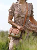 Crossbody Bag Estival Lulu castagnette Brown estival ORGEUIL
