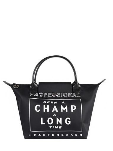 Longchamp Been a champ a long time Handbag Black