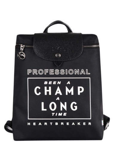 Longchamp Been a champ a long time Backpack Black