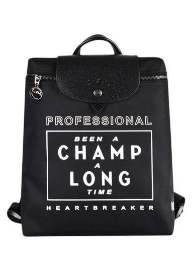 Longchamp Been a champ a long time Sac à dos Noir
