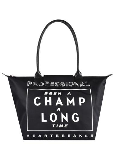 Longchamp Been a champ a long time Hobo bag Black