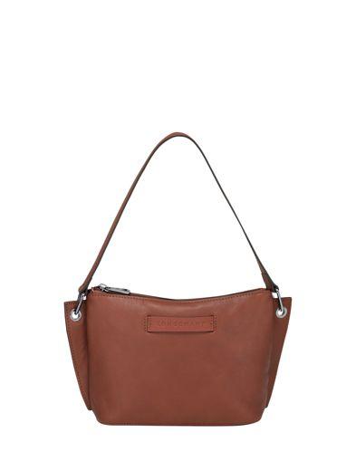 Longchamp Longchamp 3d zip Clutches Brown
