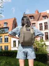 Nara Business Backpack Ecoalf Green backpack NARA