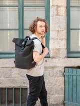 Ginza Business Backpack Ecoalf Black backpack GINZA