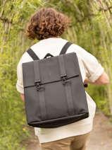 Sac à Dos Business Boston 1 Compartiment + Pc 15'' Rains Noir backpack 1213