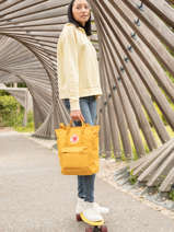Backpack Kanken Totepack N°1 Fjallraven Yellow kanken 23710
