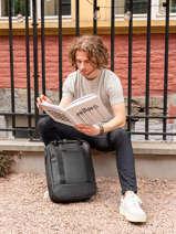 Sac A Dos 1 Compartiment + Pc15'' Ucon acrobatics Noir backpack ISON