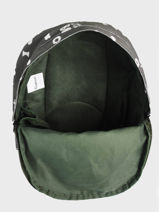 Backpack Little Boy 1 Compartment Kidzroom Green fearless 9415-vue-porte