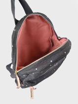 Backpack Cat 1 Compartment Kidzroom Gray starstruck 9809-vue-porte