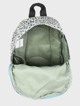 Backpack Growl 1 Compartment Kidzroom Green growl 9992-vue-porte