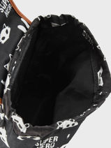 Sac à Dos Kidzroom Gris black and white 30-8177-vue-porte