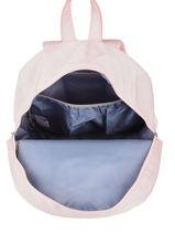 Backpack 1 Compartment Caramel et cie Pink fille F-vue-porte