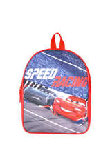 Sac A Dos 1 Compartiment Cars Rouge speed 3CENTR