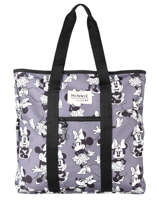 Sac Shopping A4 Minnie Mouse Mickey and minnie mouse Beige fashion 2034