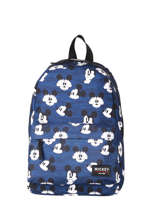 Backpack Mickey Mouse 1 Compartment Mickey and minnie mouse Blue fashion 1782