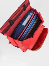2 Compartments Wheeled Schoolbag Tann