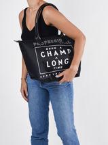 Longchamp Been a champ a long time Besaces Noir-vue-porte