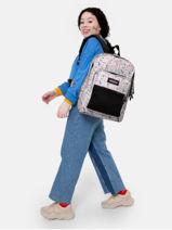 Backpack Pinnacle Eastpak Black authentic K060-vue-porte