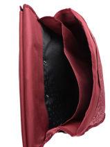 Cartable à Roulettes 2 Compartiments Réversible Pol fox Rouge fille FTCA38R-vue-porte