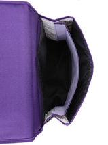 Satchel 2 Compartments Pol fox Violet fille FCA38-vue-porte