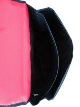 Cartable 2 Compartiments Pol fox Rose fille FCA38-vue-porte