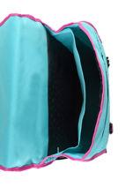 Cartable 2 Compartiments Pol fox Bleu fille FCA38-vue-porte