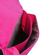 Satchel 2 Compartments Pol fox Pink fille F-CA38-vue-porte