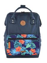 Customisable Backpack Cabaia Blue tour du monde BAGS