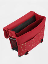 Satchel 2 Compartments Pol fox Red fille FCA38-vue-porte