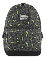 Sac à Dos 1 Compartiment Superdry Noir backpack G91001JR