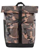 Sac à Dos 1 Compartiment + Pc 15'' Superdry Noir backpack M9110038