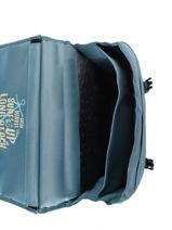 Satchel 2 Compartments Reversible Pol fox Blue garcon GCA38R-vue-porte