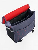 Wheeled Schoolbag Pol fox Red garcon GTRCA38-vue-porte