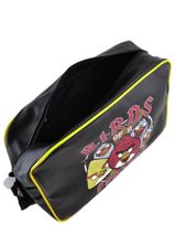 Crossbody Bag Angry birds Black agr AGR25354-vue-porte