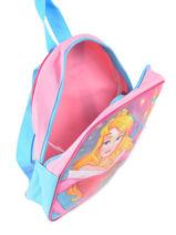 Sac à Dos Mini Disney Rose princess AST4091-vue-porte