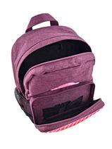 Backpack Mini Eggman Violet silicone KIDEGGIS-vue-porte