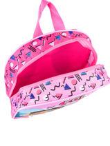 Backpack 1 Compartment Lol Pink surprise 99747LOL-vue-porte