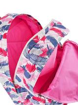 Sac A Dos 2 Compartiments Love love Pink candy LPK22078-vue-porte
