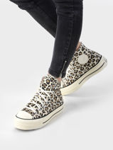 Sneakers chuck taylor all star hi archive print-CONVERSE-vue-porte