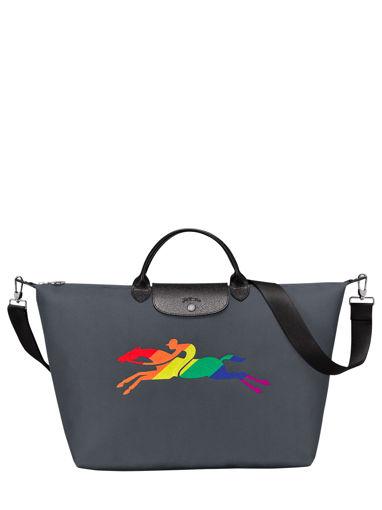 Longchamp Artist Travel bag Gray