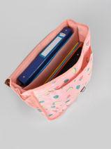 Satchel 1 Compartment Roxy Pink back to school RJBP3048-vue-porte
