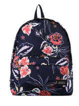 Backpack 1 Compartment Roxy Blue back to school RJBP4354